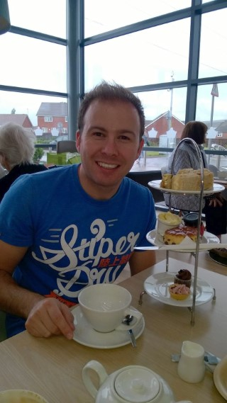 Me Afternoon Tea Aug 2015