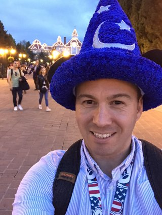 Me Hat Disney Land Paris Oct 2019
