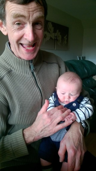 Happy Grandad P With Ethan February 2016