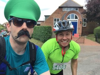 25 Miles Great Notts Bike Ride 2015 Adrian And I