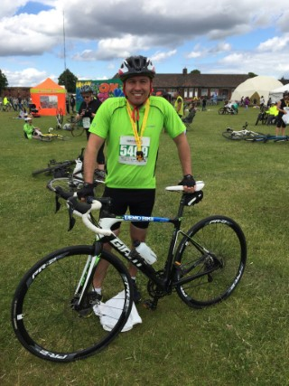 25 Miles Great Notts Bike Ride 2015 Me