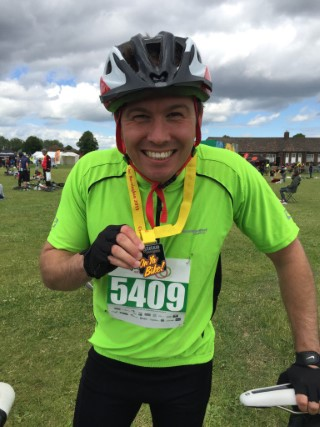 25 Miles Great Notts Bike Ride 2015 Medal Me