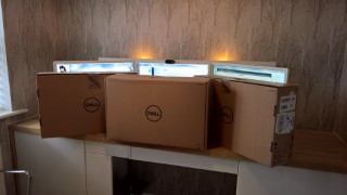 3 X New 2k Dell Monitors In Box