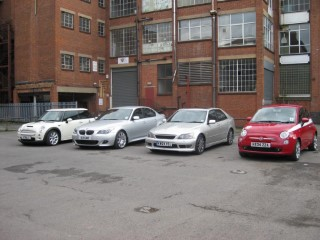4 Group Grownup Cars