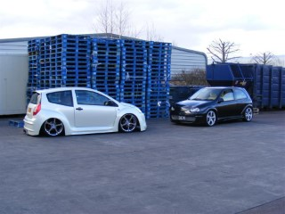 Sags C2 and My Corsa Photoshoot