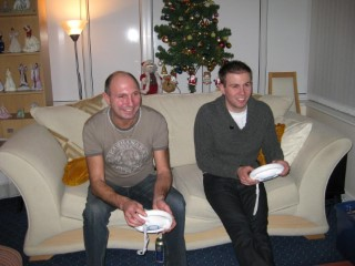 Dad And I Boxing Day 2008