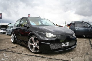 Front Of My Car At Donny South 2006