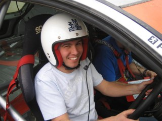 Me In Rally Car