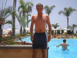 Me Round The Pool In Tenerife 2006