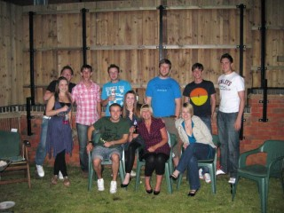 My BBQ Group July 09