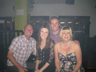 My Family At Lauras Engagement May 10
