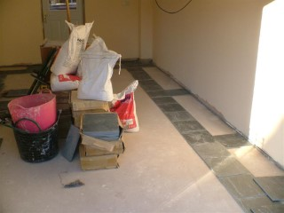 New Floor Tiles Arrived