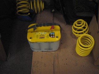 New Yellow Top Battery