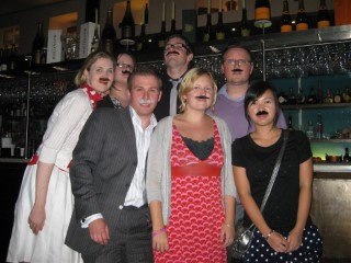 Sams Moustache Party The Group