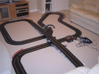 Scalextric Track At Mine