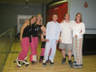 Small Group At PJ Skate Liverpool Jun 10