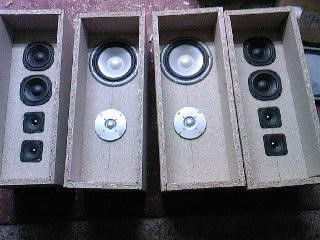 Speakers In Box Front