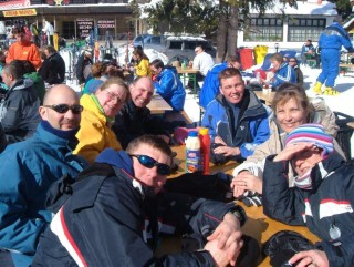 The Group In The Day Skiing 2006