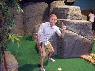 Adventure Island Mini Golf June 2014 Hole In 1