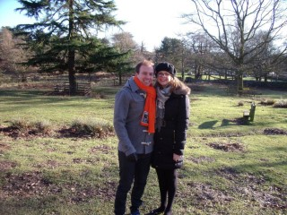 Bradgate Park January 2015 Rachel And I