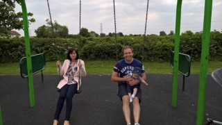 Broughton Astley Park May 2016 Joy Ethan And I Swings