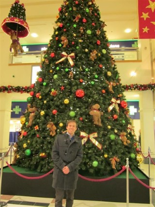 Chrismtas Tree and I Shopping Day Dec 2011