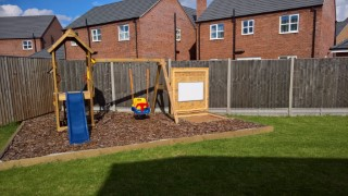 Cover Up Garden Sand Pit April 2017
