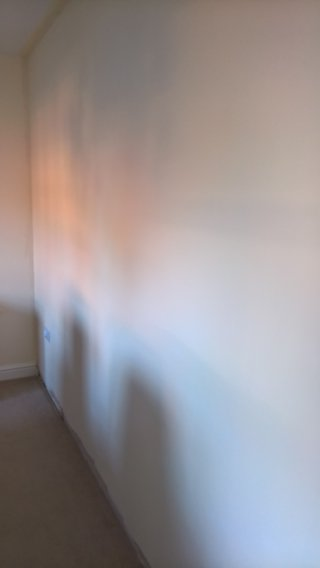 Dining Room Painting The Plastered Wall Sept 2018