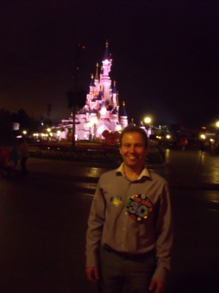 Disney Land Paris Oct 2013 Day 2 Me Night Castle