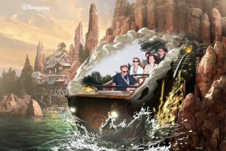 Disney Land Paris Sunday Oct 2019 Family Big Thunder Mountain