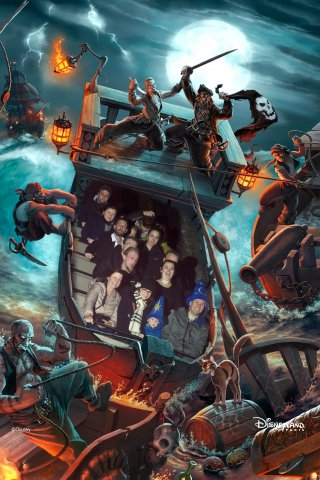 Disney Land Paris Tuesday Oct 2019 Family Pirates Of The Caribbean