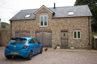 Dorset May 2015 Coachhouse And Car