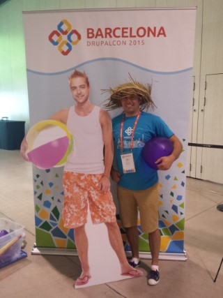 Drupalcon Barcelona September 2015 Me And Dries