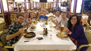 Drupalcon Barcelona September 2015 Orange Bus Mmt Meal
