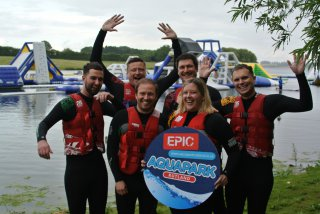Effect Team Hands Up Rutland Water Aqua Park 11th July 2019