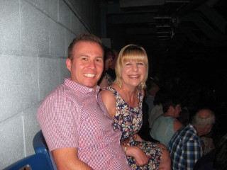 Elton John June 2014 Mum And I