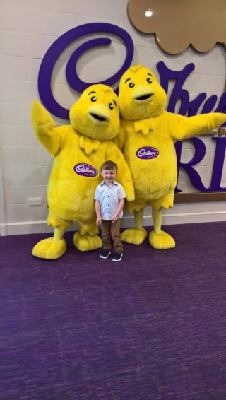 Ethan And Chicks Cadburys World June 2019