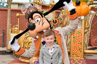 Ethan And Goofy Wednesday Disneyland Paris Oct 2018