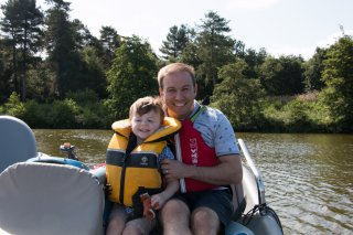 Ethan And I Boat Center Parcs Nottingham Monday August 2019