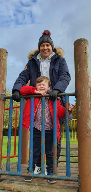 Ethan And I Broughton Astley Park And Walk Oct 2020