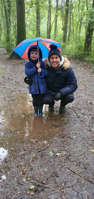 Ethan And I Burbage Common Raining Walk Oct 2020