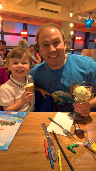 Ethan And I Ice Cream Center Parcs Nottingham Friday August 2019