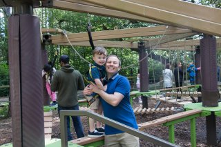 Ethan And I Mini Go Ape Center Parcs Nottingham Saturday August 2019