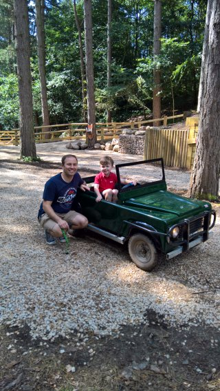 Ethan And I Mini Land Rover Center Parcs Nottingham Sunday August 2019