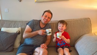 Ethan And I Mugs Fathers Day June 2019