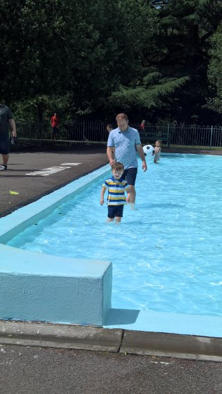 Ethan And I Outdoor Pool Leamington Spa June 2019