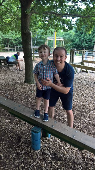 Ethan And I Wheelgate Park August 2019