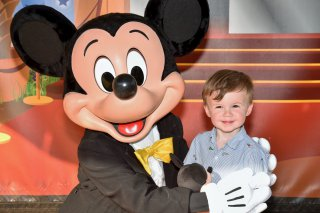 Ethan And Mickey Tuesday Disneyland Paris Oct 2018