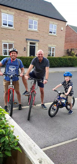 Ethan Dad And I Bikes Chip Shop Bike Ride July 2020