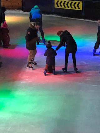 Ethan Rachel And I Tamworth Ice Skating Feb 2020